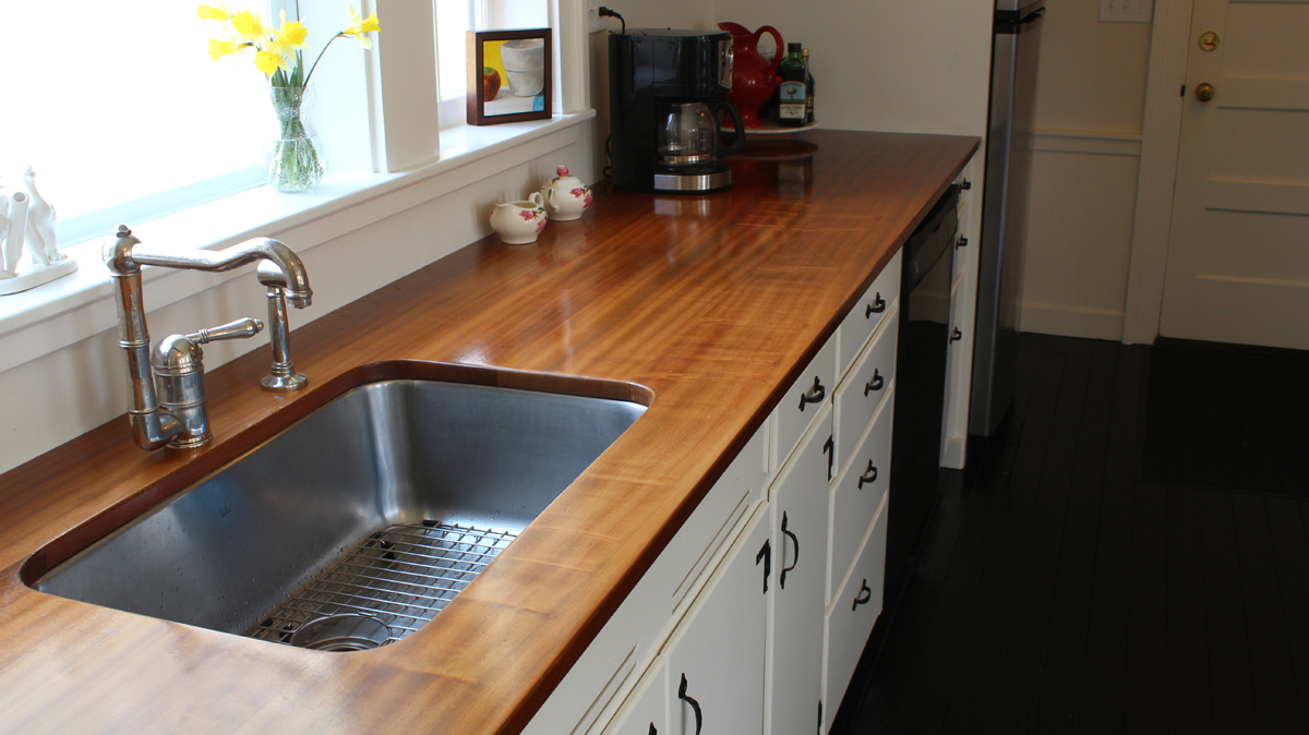 how to make a wooden countertop jon peters art home