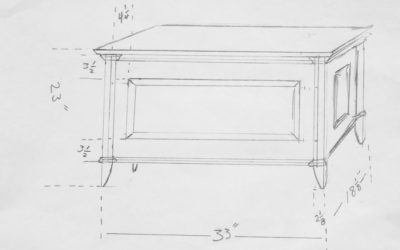 Blanket Chest Drawing