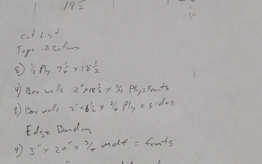 Donald Judd inspired shelving system