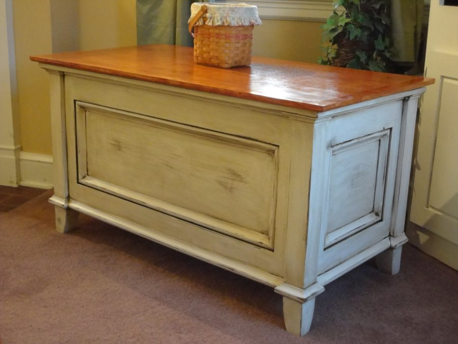 Build a Blanket Chest / Toy Chest - FREE DESIGN PLANS