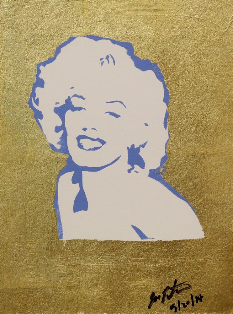 Marilyn Monroe Painting Russ Conway