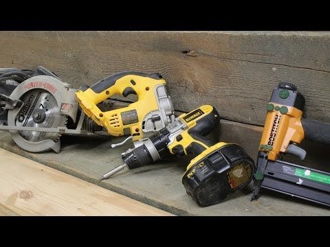 A few tips on the tools you'll need to start woodworking