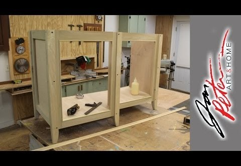 build a bathroom vanity cabinet part 1 art and home by jon petersart