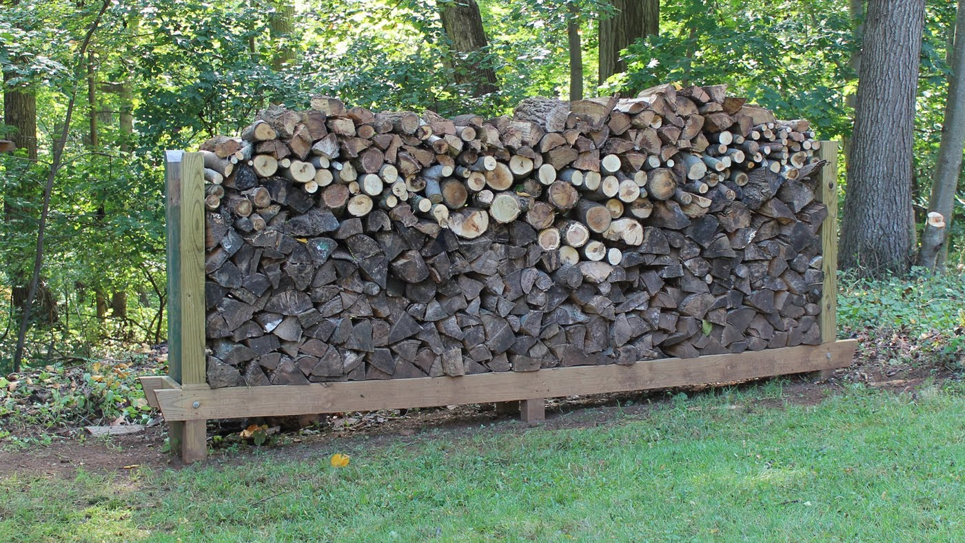 woodhaven main racks firewood heavy outdoor cover with wrc rack duty