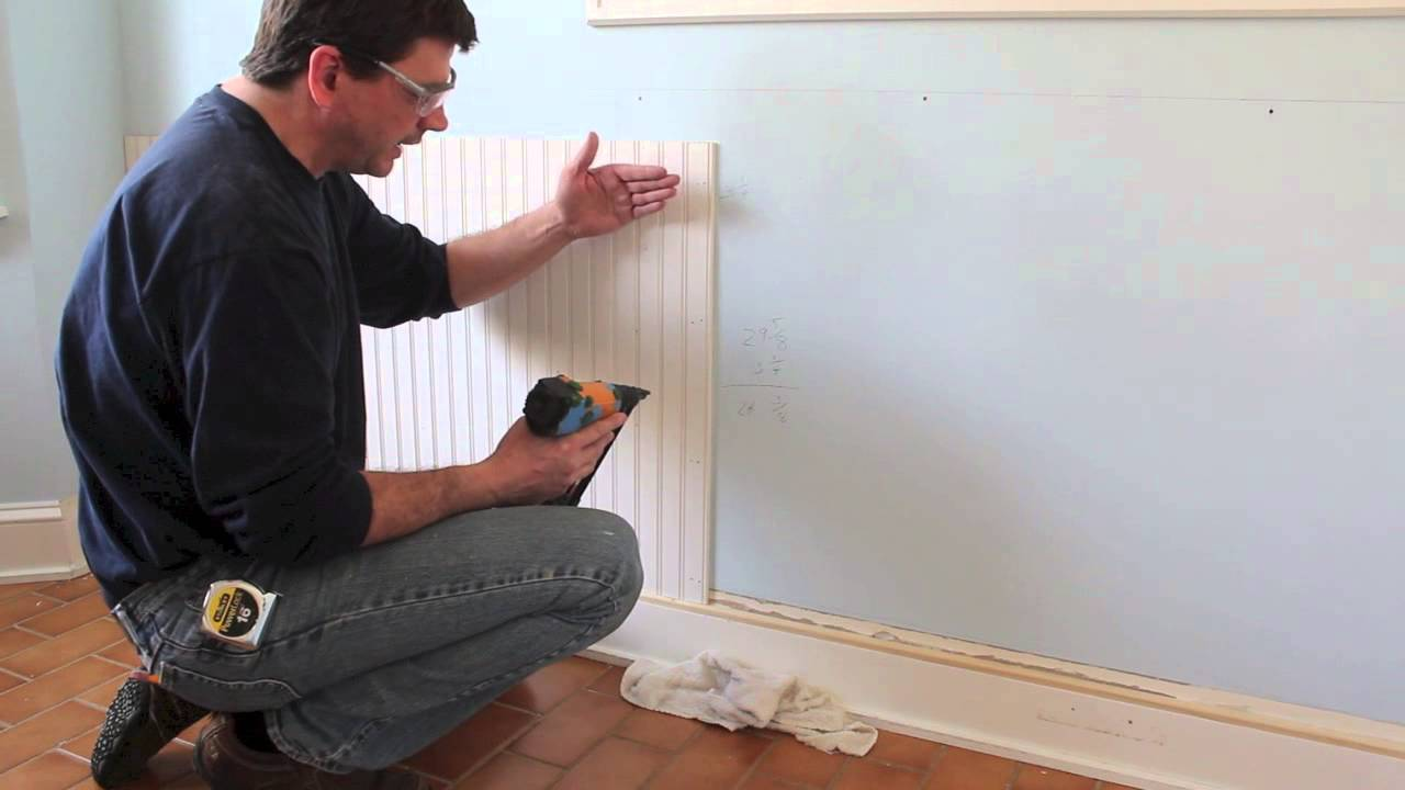 Design And Install Beadboard Wainscoting Molding Jon