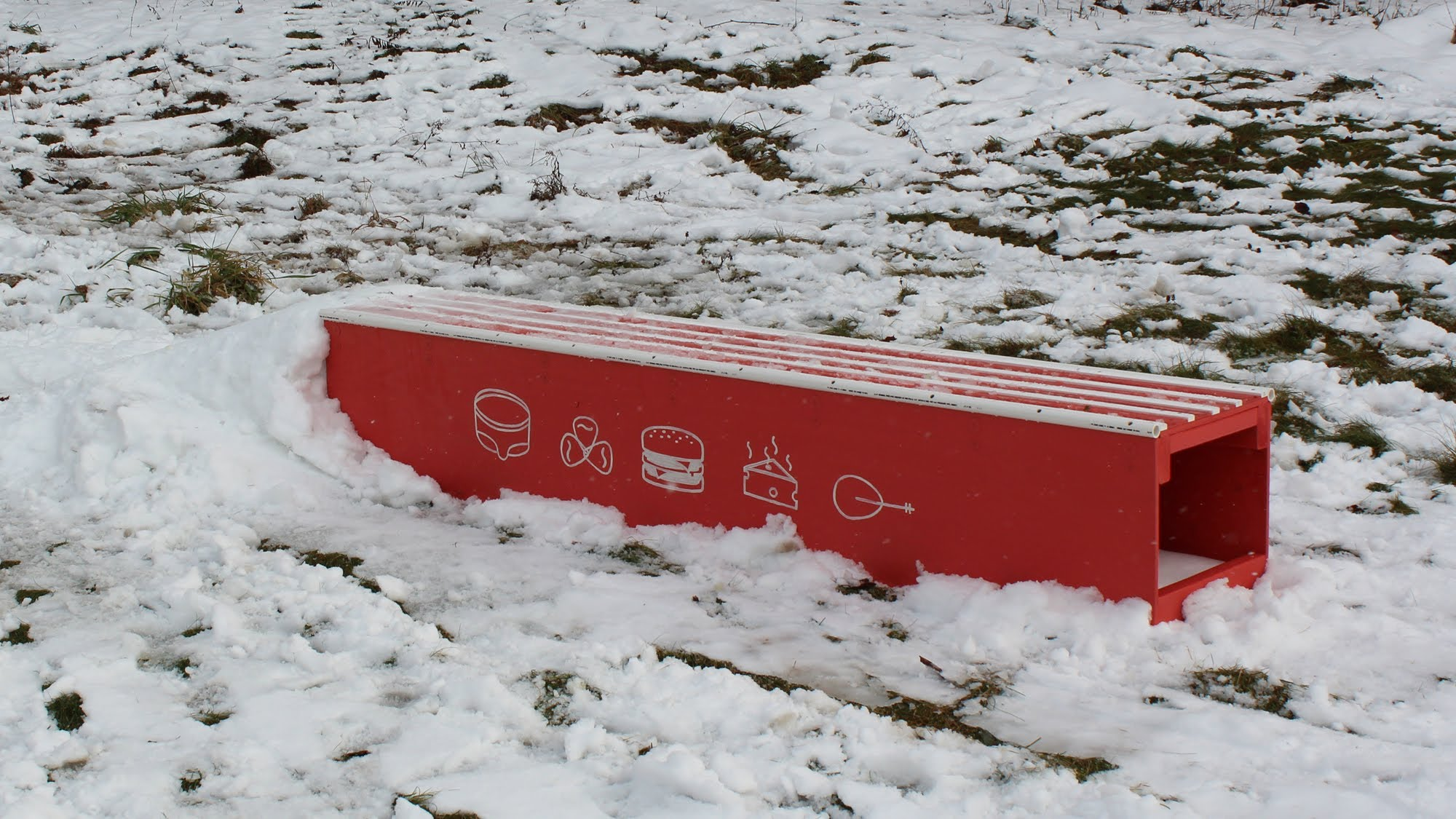 How to make, build a snowboard box