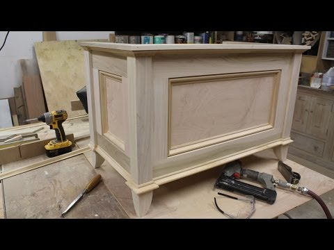 Make a blanket chest / Toy chest