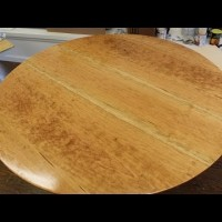 how to make a round shield out of wood