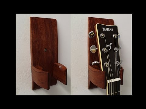 Make and install a guitar hanger