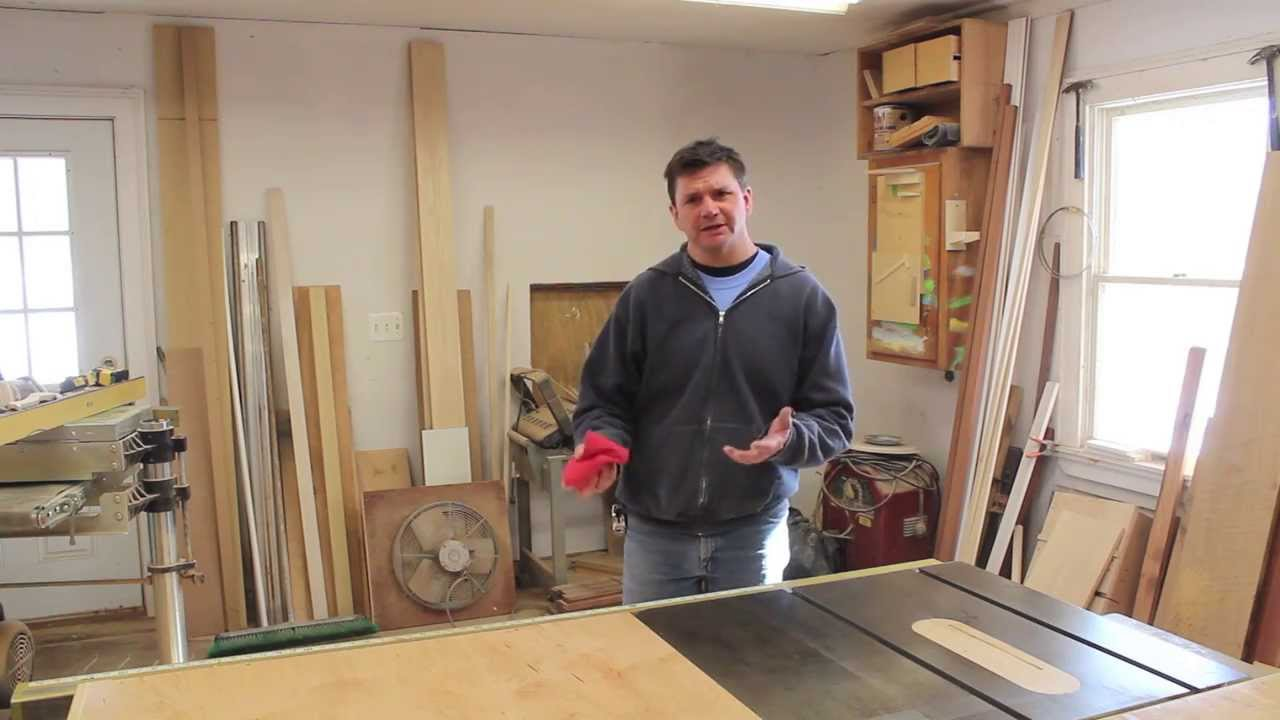 Q & A on finishing the table saw storage cabinet