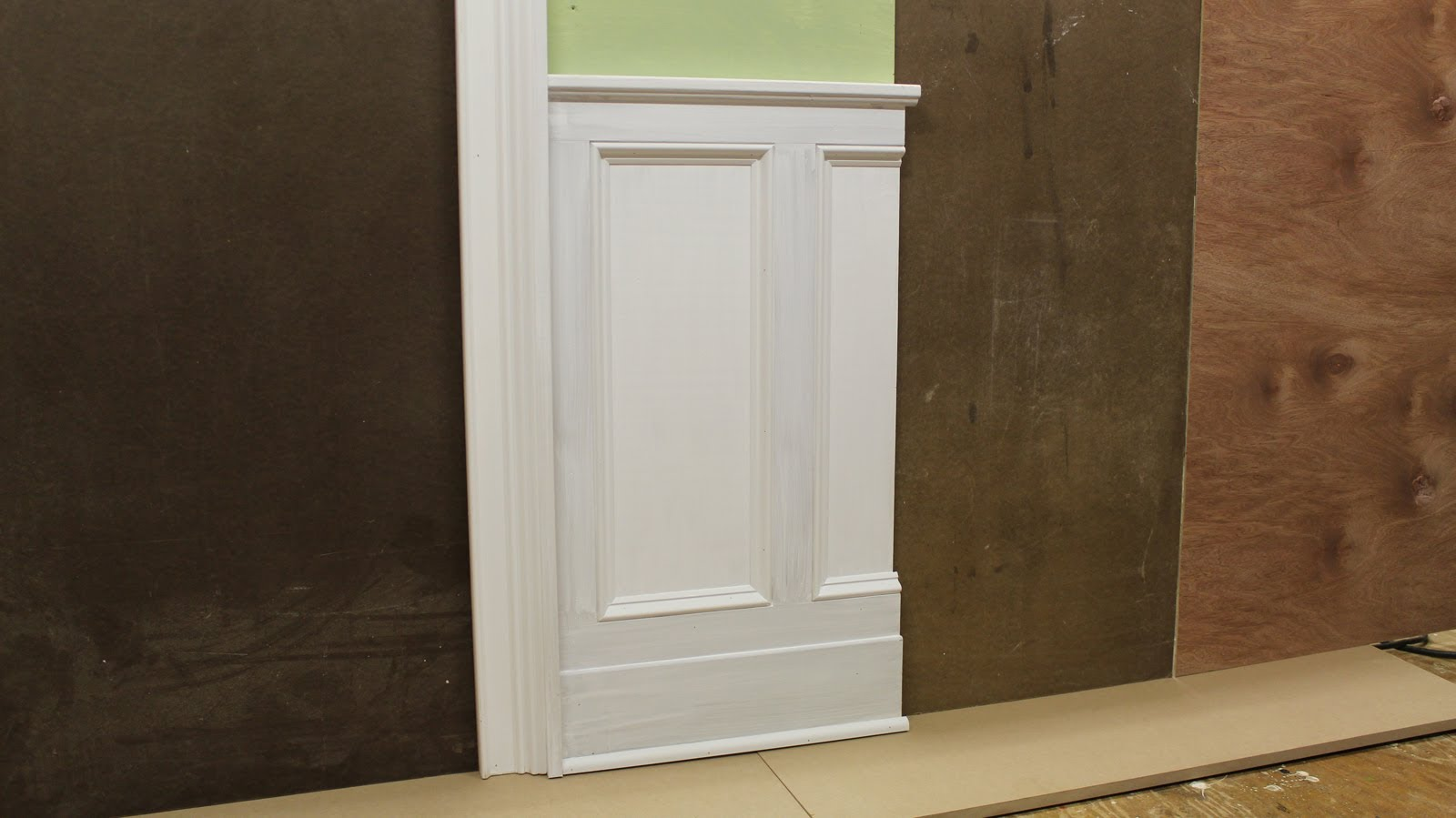 Tips on Designing \u0026 Installing Chair Rail Wainscoting and Panel molding \u2013 Design Plans : wainscoting door - pezcame.com