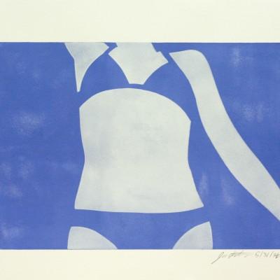 Bikini Girl Blue 2