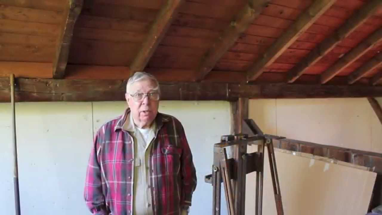 French Easel, and a visit with Francis Cunningham in the Berkshires