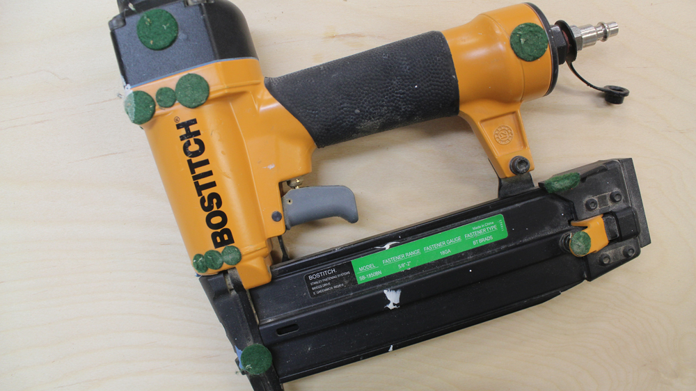 Why the Green Dots on your nail gun? And a Lightning Strike