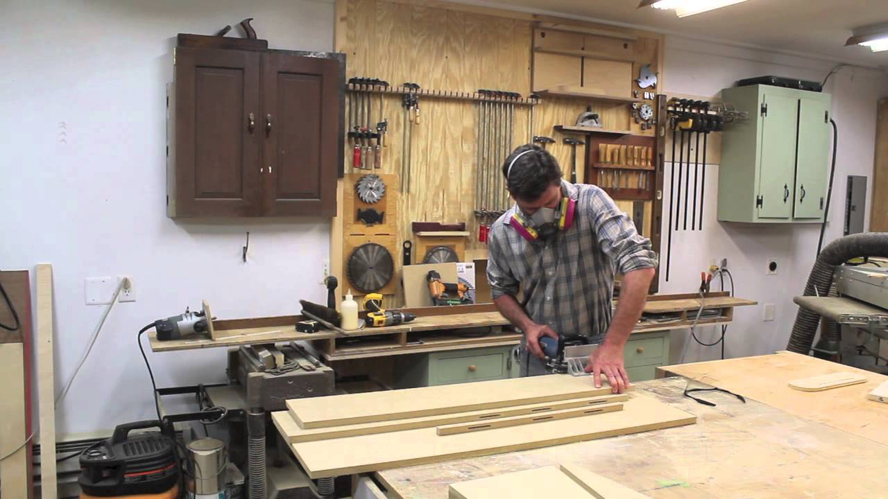 How To Make a Set of Modern Chairs with Solid Walnut & Zebrawood