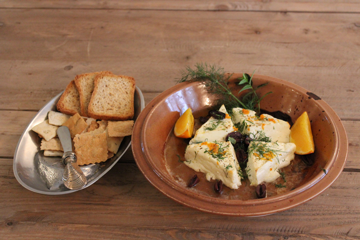 Recipe Thursdays: Baked Feta with Olives, Orange & Herbs