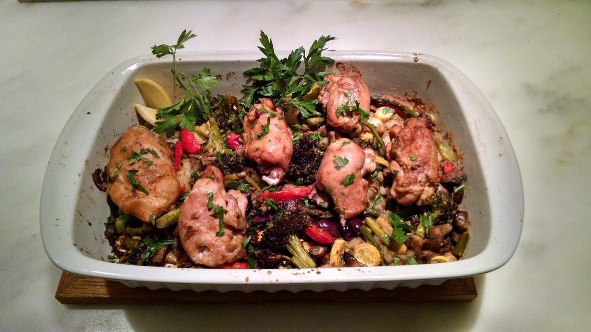 Recipe Thursdays:  Smoke-Rubbed Boneless Chicken Thighs