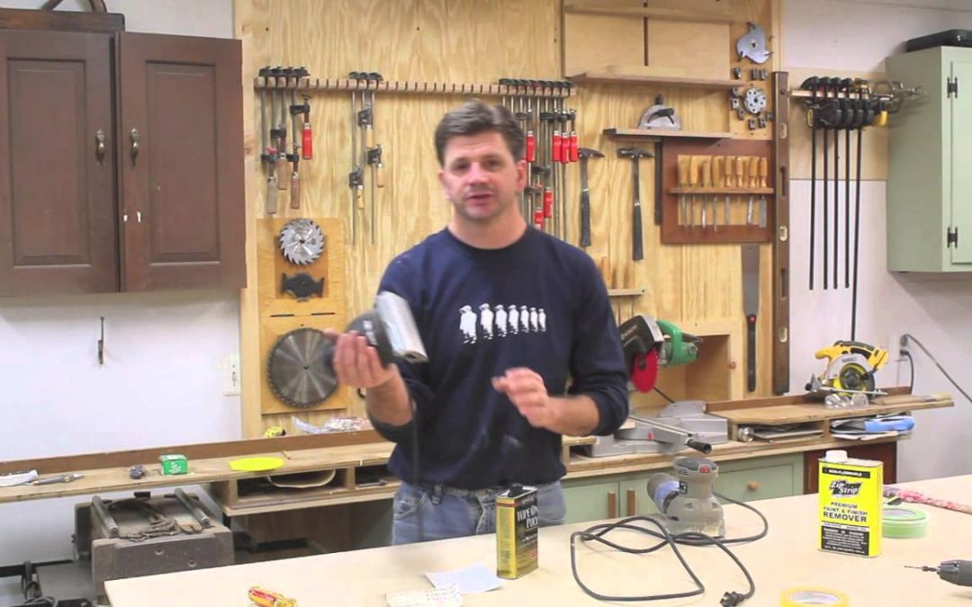 How To Refinish a Wooden Countertop