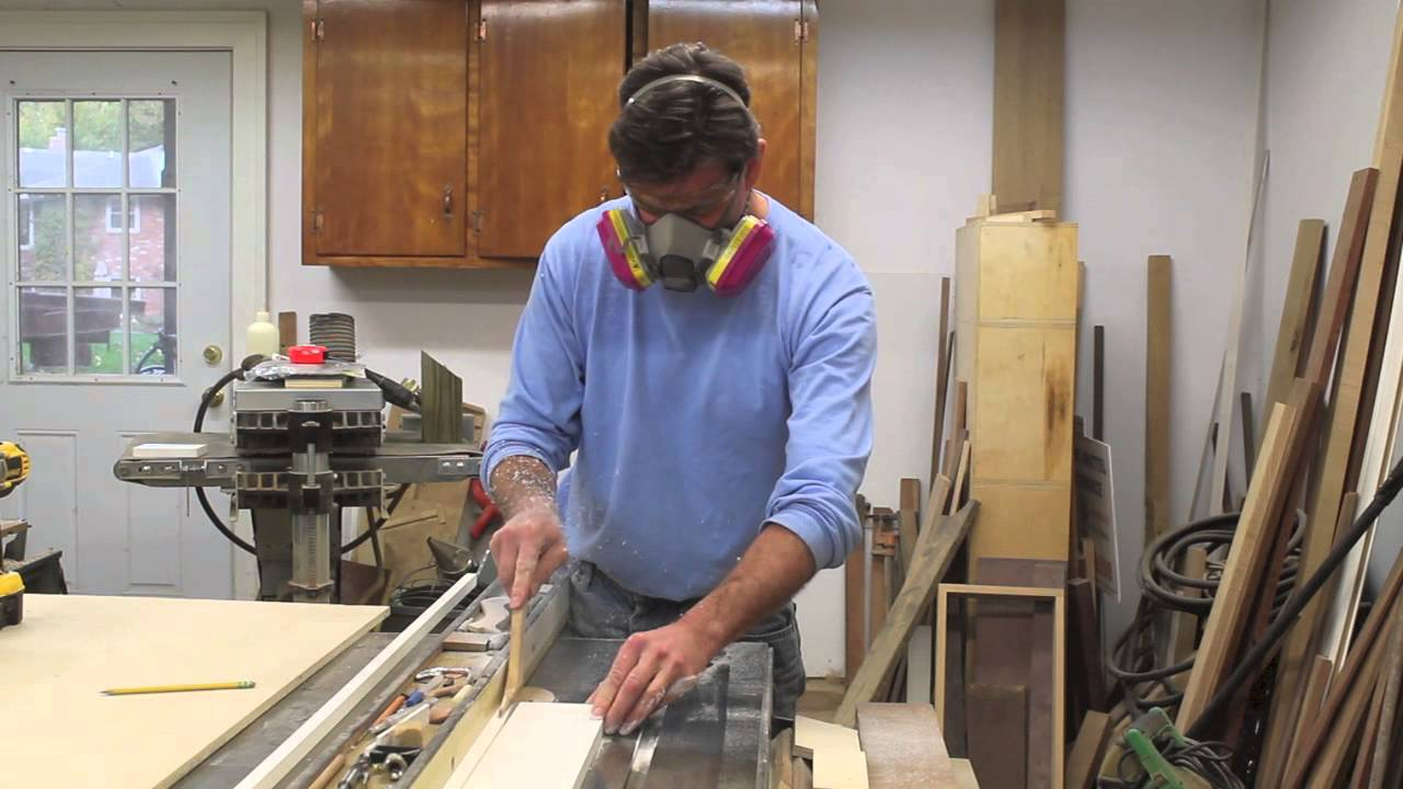 Making Azek Molding with the Williams and Hussey Molder Planer