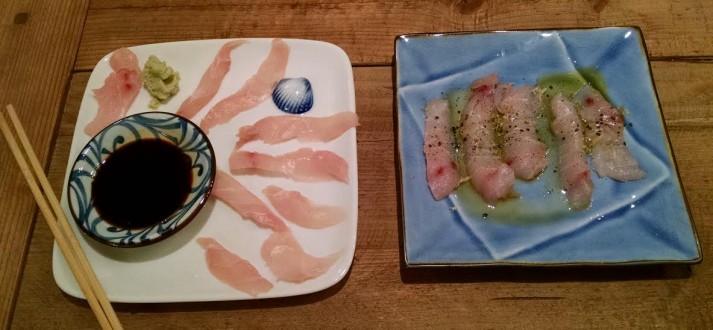 Recipe Thursdays: Wild Striped Bass Sashimi & Crudo - Art ...