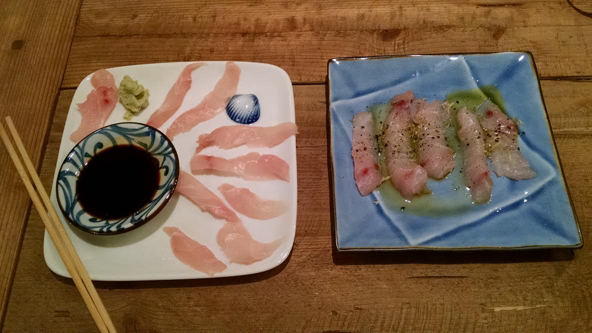 Recipe Thursdays: Wild Striped Bass Sashimi & Crudo