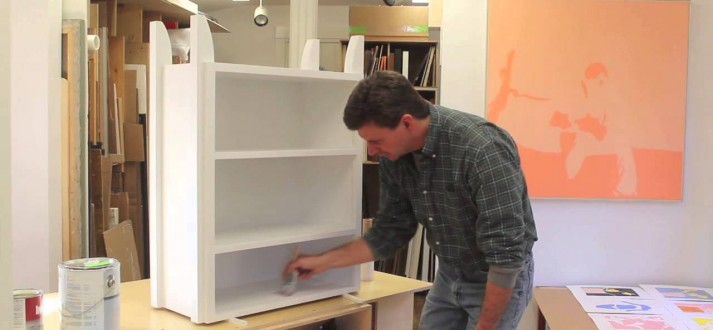 A tight spot painting tip