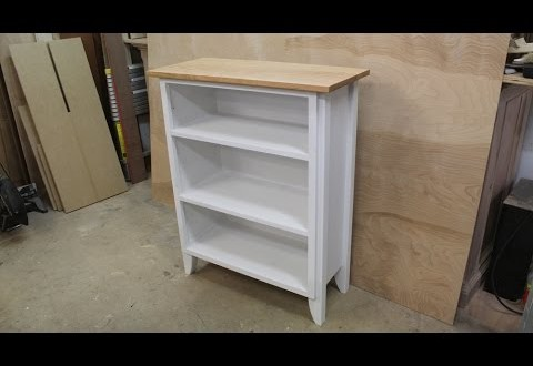 Repurpose an old shop cabinet into a piece of furniture