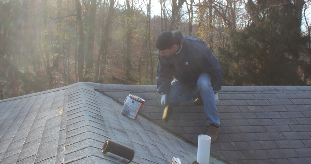 How to fix a roof leak, simple roof repair
