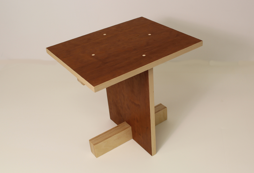 Building a Model for a Modern Stool Design