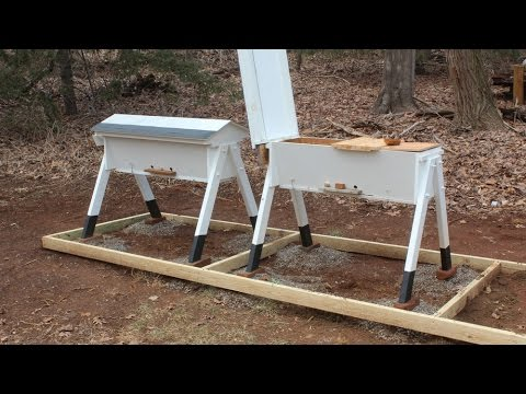 Build a Top Bar Beehive – Part 2
