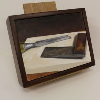 Chisel and Square Still Life