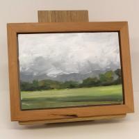 Storm Bringer, 6 4 2015. Oil on panel 6.5 x 8.5