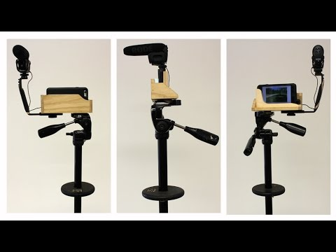 Make a Tripod Adapter for an iPhone & Steadicam