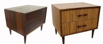 Mid Century Modern Make Over with Zebrawood Veneer