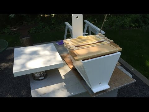 My Bees Swarmed, My Swarm Trap & A Short Art Talk