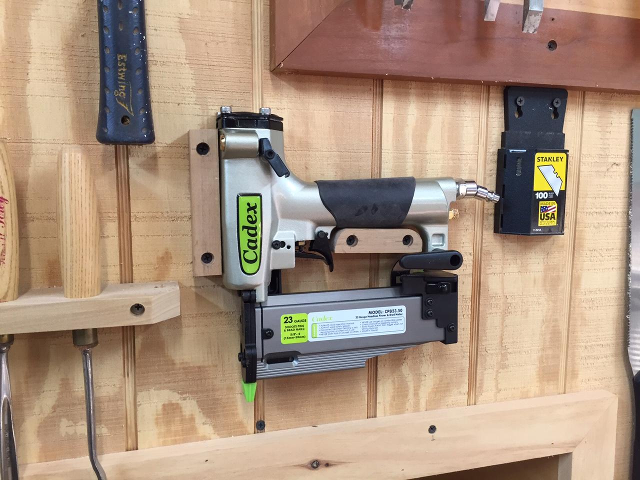 Cadex 23 Gauge Pin Nailer – Nail Gun Review