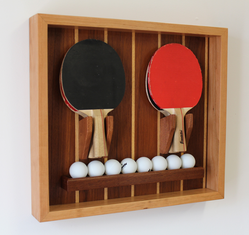 Make A Custom Ping Pong Paddle Ball Holder Design Plans