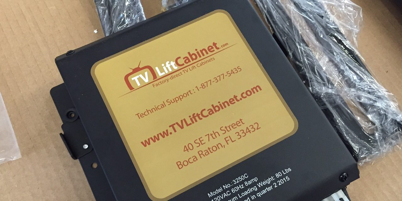 TV Lift Cabinet – Unboxing The Lift Mechanism