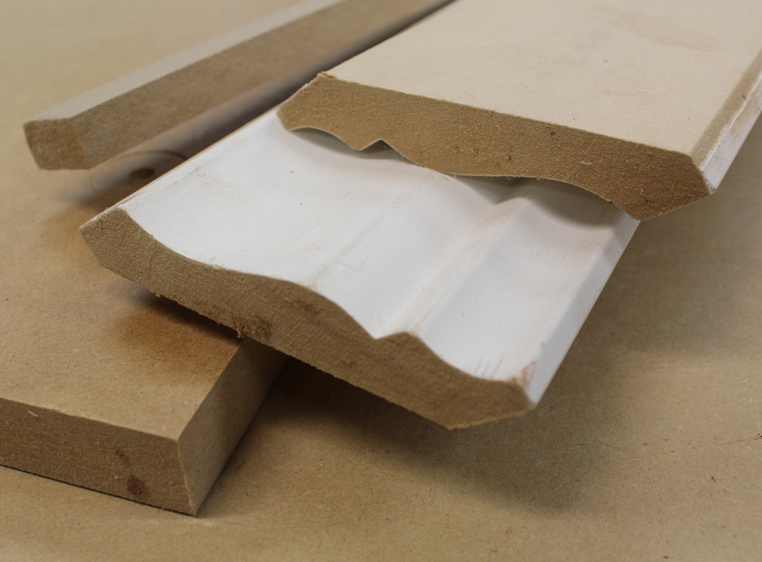 MDF – Great for Molding But Not Cabinets