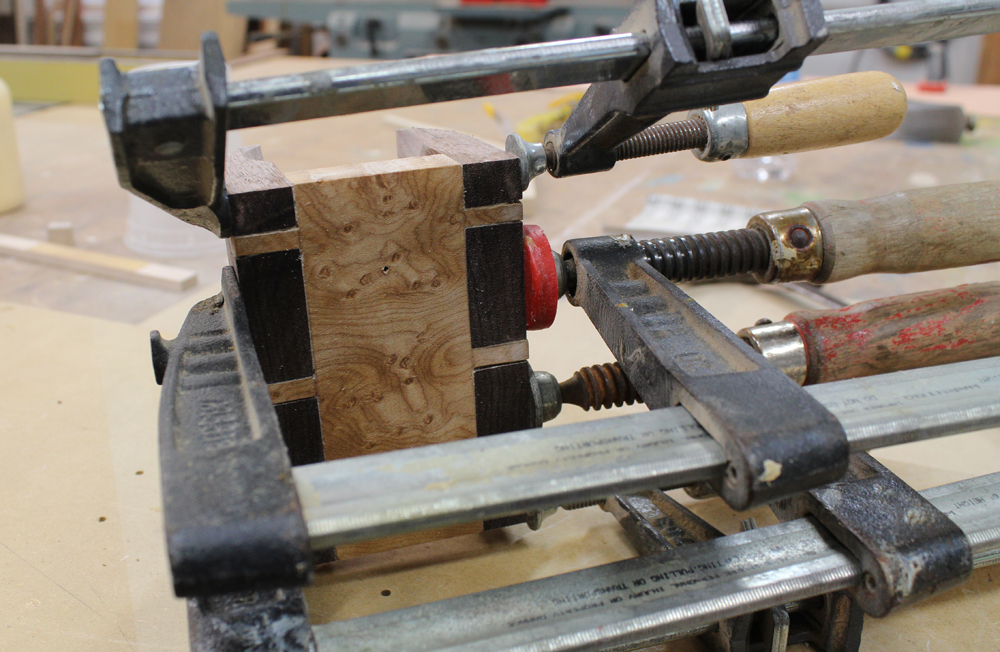 Dovetails in clamps