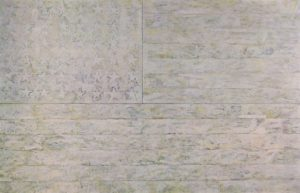 Jasper Johns White Flag 1955 Encaustic, oil, newsprint, and charcoal on canvas Dimensions: 78 5/16 x 120 3/4 in. (198.9 x 306.7 cm) The Metropolitan Museum of Art