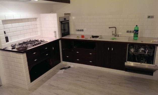 Custom Kitchen by Michal