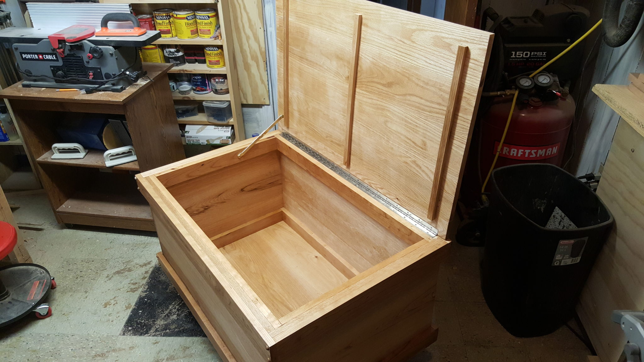 Blanket Chest by Joe W.
