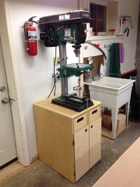 Drill Press Cabinet by Steve Kilpatrick