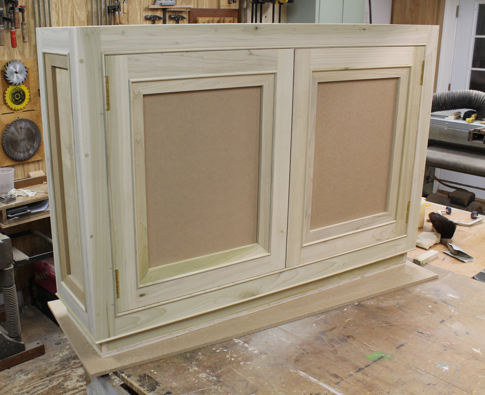 The Unfinished Cabinet Box