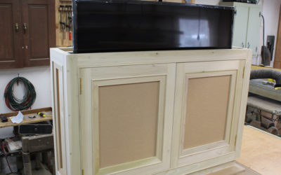 How to Build a TV Lift Cabinet – Design Plans