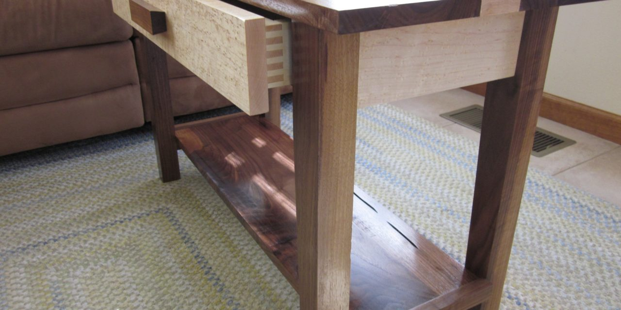 Sofa Table by Chuck Pappas
