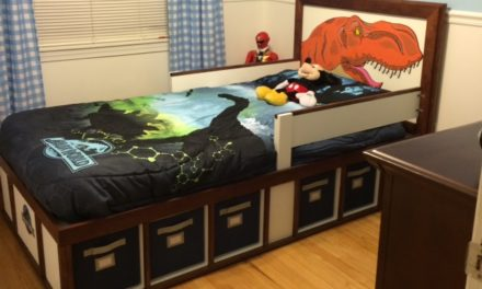Platform Bed by Mike Caruso