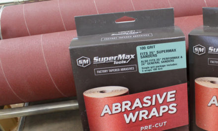 How to Change Sandpaper on a Performax & SuperMax Drum Sander
