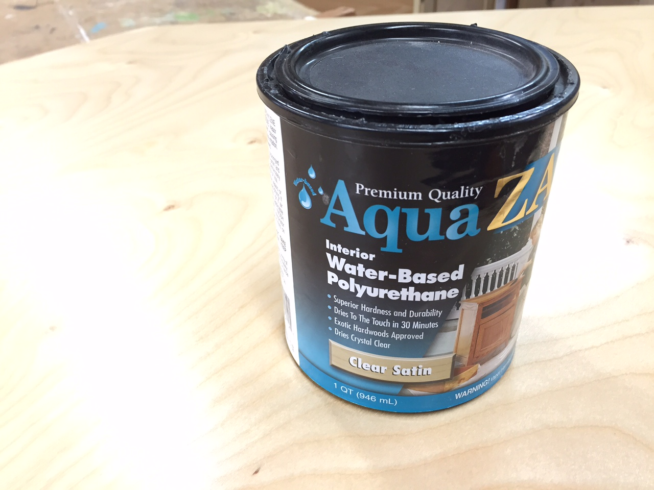 2 x 4 Scaffold Q & A + When I use Water Based Polyurethane